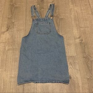 Forever 21 Small Overall Jean Dress